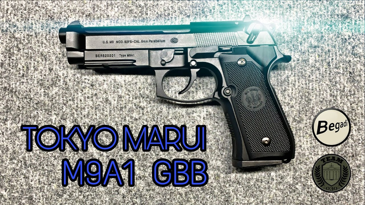 TOKYO MARUI M9A1 GBB inkl. Montage
