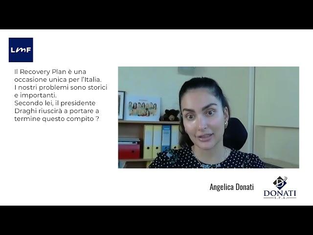 Il Recovery Plan è una grande occasione da non perdere - Angelica Donati (Donatii)