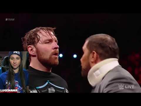 WWE Raw 11/20/17 The Shield Powerbombs Bo Dallas