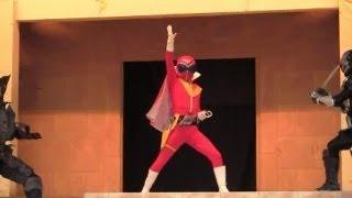 【スーパー戦隊】海賊戦隊ゴーカイジャーショー①アカレンジャーにゴーカイチェンジ☆特撮変身ヒーロー★ひらパー Super Sentai Gokaiger, Aka_ranger thumbnail