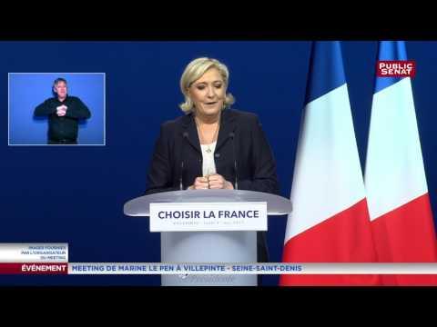 """Marine Le Pen : """"Elue présidente de la République, je nommerai N. Dupont-Aignan Premier ministre"""""""