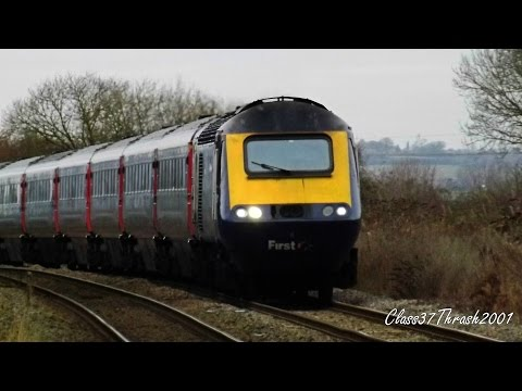 Half an hour at Honeybourne station 2016