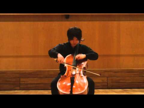 Kodaly Sonata for Solo Cello 3rd mov.