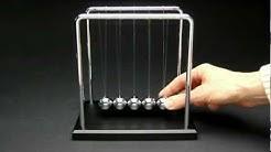 Newton's Cradle - Newton Pendel - Kugelstosspendel