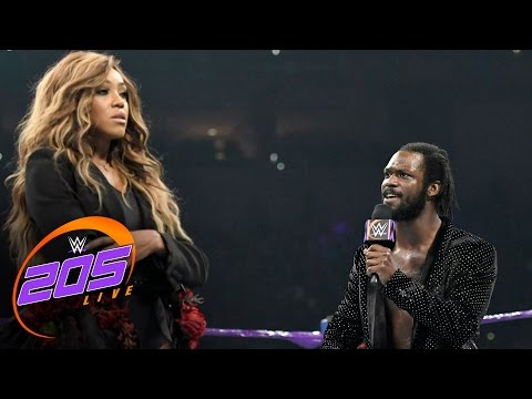 Thumbnail: Rich Swann reveals why he sent gifts to Alicia Fox: WWE 205 Live, April 18, 2017