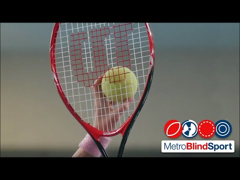 Blind Tennis - Part 1 - Metro Blind Sport
