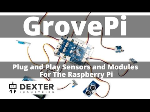 GrovePi Internet of Things Robot Kit