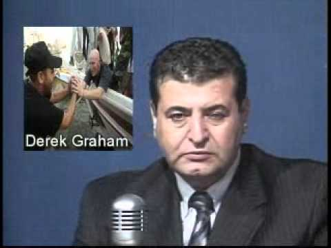 Free Gaza Movement.Hesham Tillawi interview with Derek Graha
