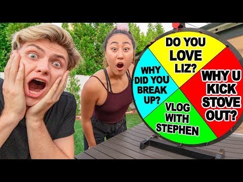 ANSWERING EMOTIONAL QUESTIONS WITH MY EX GIRLFRIEND (awkward)