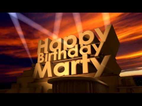 happy birthday marty Happy Birthday Marty   YouTube happy birthday marty