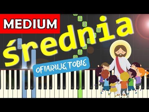 🎹 Ofiaruję Tobie - Piano Tutorial (średnia wersja) 🎹