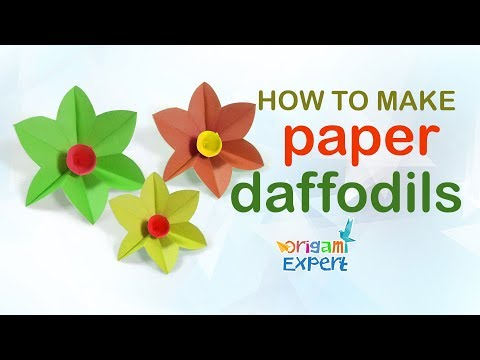 How to Make Origami Flower Easy