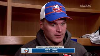Robin Lehner: That Was a Big Win For Us | New York Islanders Postgame