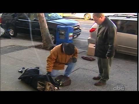 Man Aides A Pedestrian Who Has Fallen On Sidewalk | What Would You Do? | WWYD | ABC News