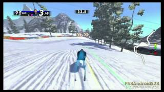 Sports Champions 2 Demo - PS3 - Skiing