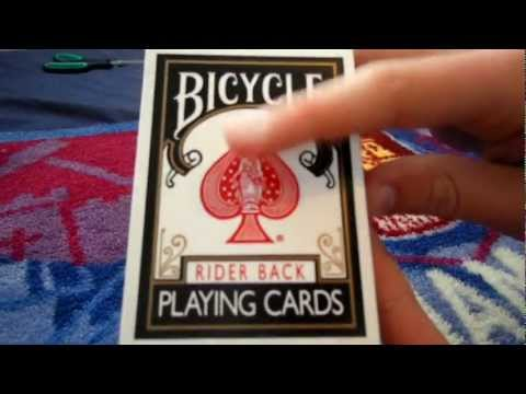 Deck Review - Bicycle Black Rider Back