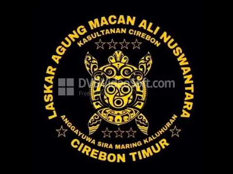 Gambar Logo Macan Ali Laskar Agung Macan Ali Kesultanan Cirebon Timur Youtube