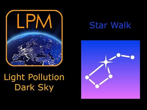 Videotutorial: Light Pollution Dark Sky E Star Walk