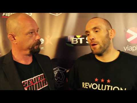 Post-Fight Interview with Steve O'Keefe at Cage Warriors 84