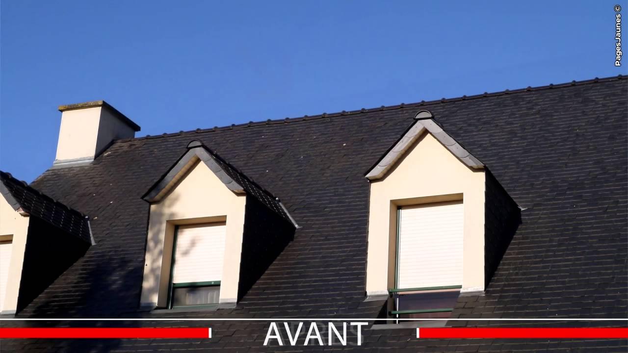 fen tre de toit conduit de lumi re volets saint jacques de la lande 35 youtube. Black Bedroom Furniture Sets. Home Design Ideas