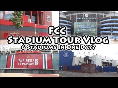 Premier League Stadium Tour Vlog | Visiting 6 Stadiums In A Day | Adrenalyn XL & Match Attax 20/21