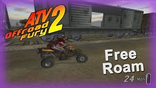 ATV Offroad Fury 2 - Free Roam Moments