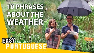 10 phrases about the weather - Easy Brazilian Portuguese Basic Phrases (15)