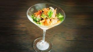 Hawaiian Style Salmon Ceviche - Pseudo Polynesian Cuisine Recipe