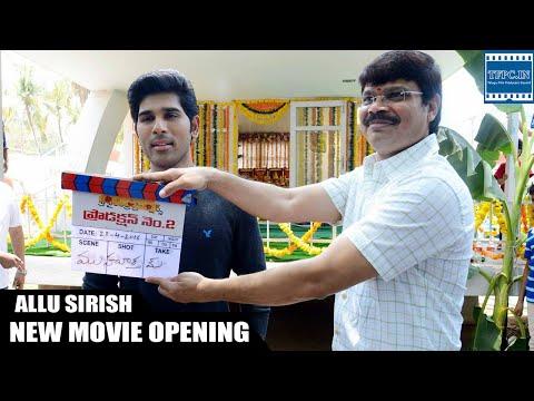 Allu Sirish New Movie Opening Video | TFPC