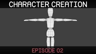 Blender Character Creation (E02: Modelling)