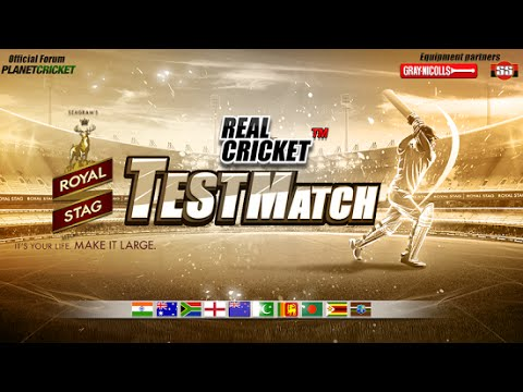 Real Cricket Test Match Android iOS Gameplay HD