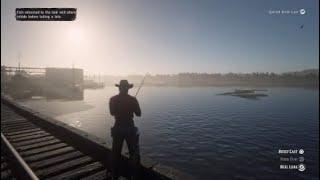 Legendary Lake Sturgeon Red Dead Redemption 2