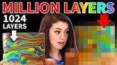 MILLION Layer Rainbow Clay Bowls