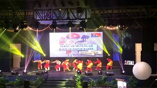 Johan Zapin Johor 2017 - Sekolah Seni Malaysia Johor (Daerah Johor Bahru) FSMJ 2017