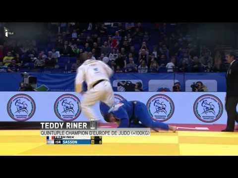 Judo: Teddy Riner champion d'Europe pour la cinquième fois