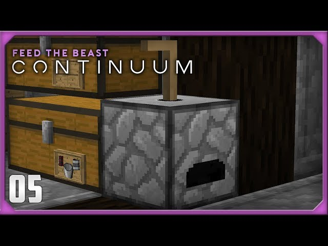 FTB Continuum EP5 Ore Doubling + Blast furnace
