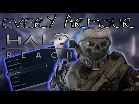 HOW TO GET EVERY ARMOUR ON HALO REACH PC - TUTORIAL (REACH MMC)
