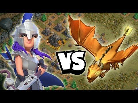 gladiatorkÖnigin-gegen-goldenen-drachen!-☆-clash-of-clans
