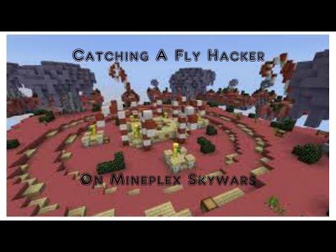 Catching a Fly Hacker On Mineplex Skywars!