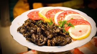 Как вкусно приготовить виноградных улиток/How delicious to cook snails