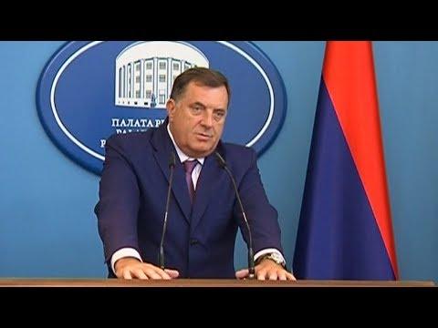 Dodik odustao od referenduma o Sudu i Tužilaštvu BIH