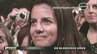 Concierto Gianmarco 20 Años 17/08/12 Lima, Perú Parte 1