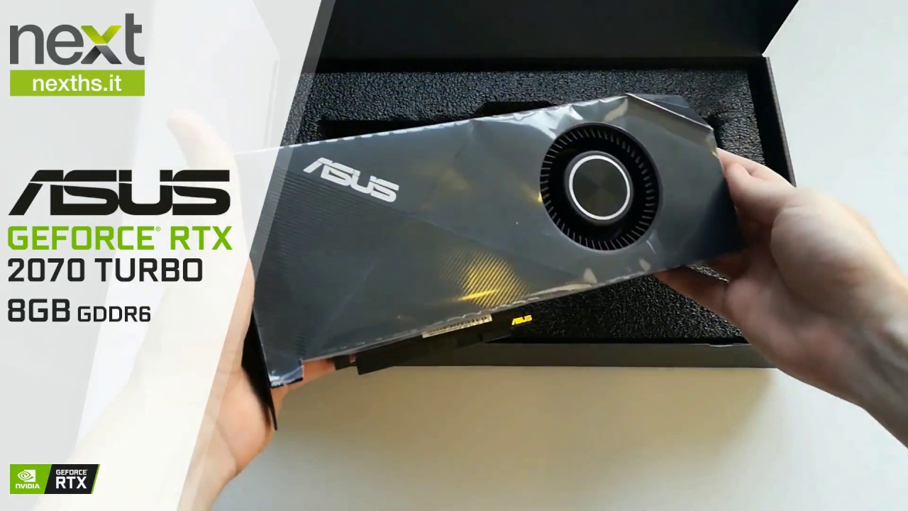 Unboxing Asus GeForce RTX 2070 Turbo 8GB