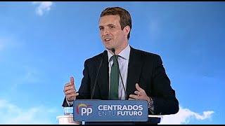 Casado avisa que Rivera puede pactar CCAA con PSOE