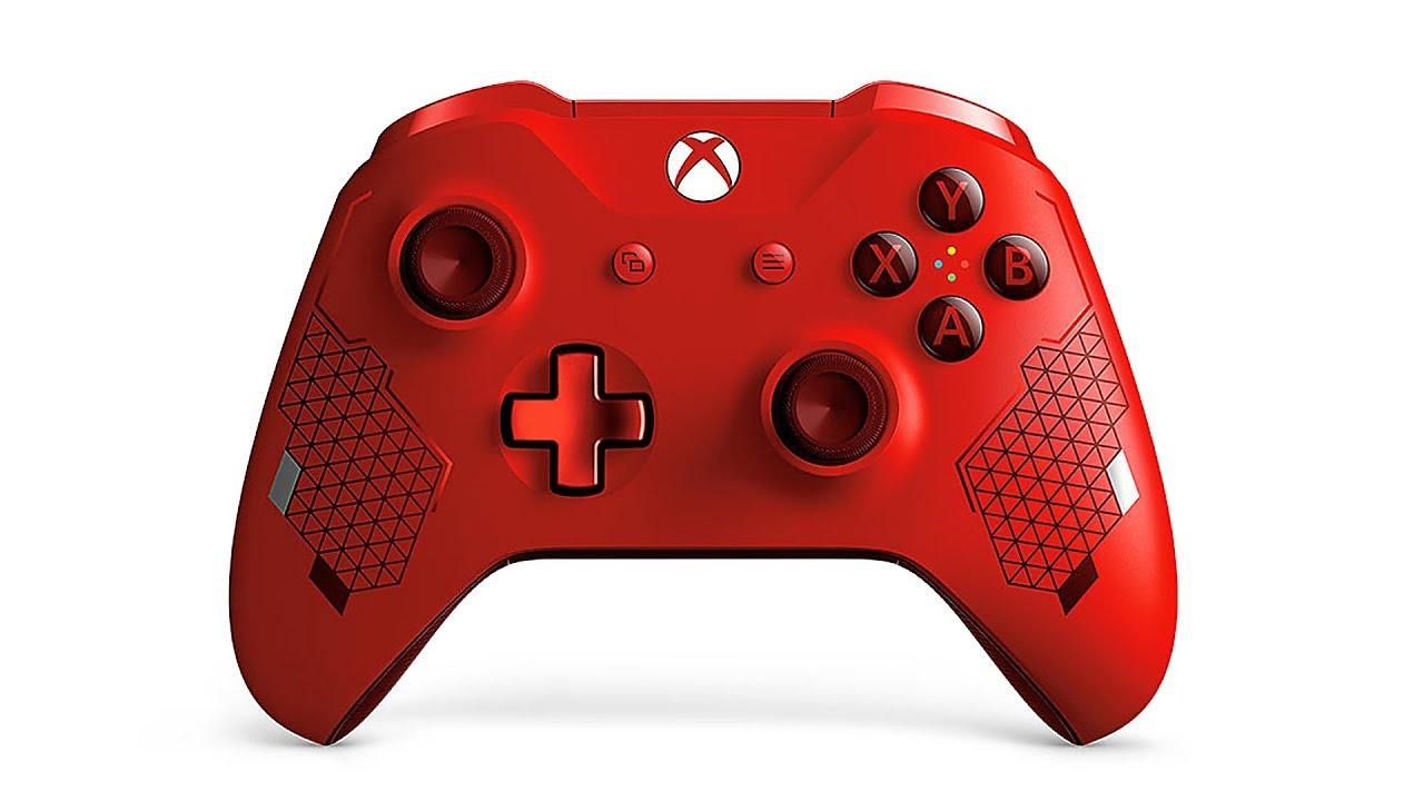 Xbox Elite Wireless Controller - Sport Rot (2019) + video
