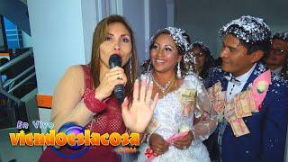 VIDEO: BODA JHONNY Y MELBA (HECHICERO en VIVO)