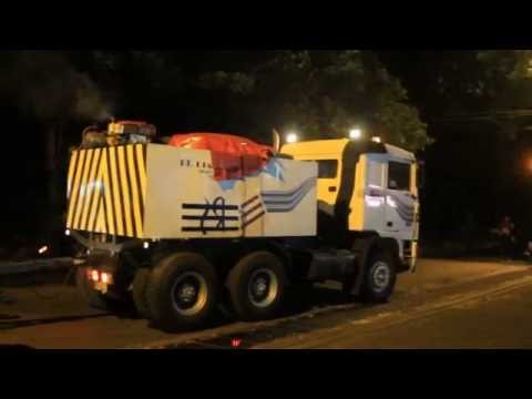 best skill driver truck in Indonesia - heavy haulage