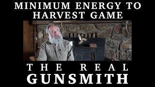 Minimum Energy to Harvest Game -- The Real Gunsmith