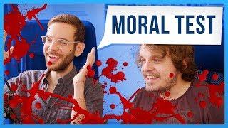 Wer muss überfahren werden? - Moral Test