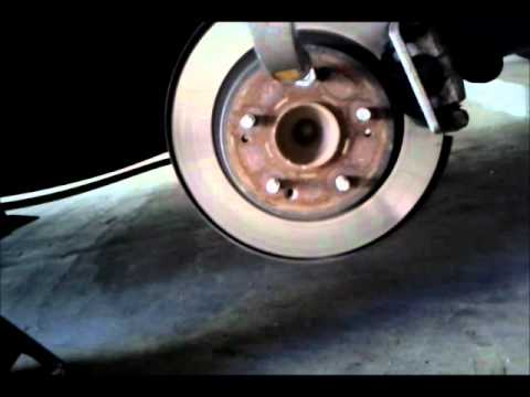 Removing wheel studs - YouTube